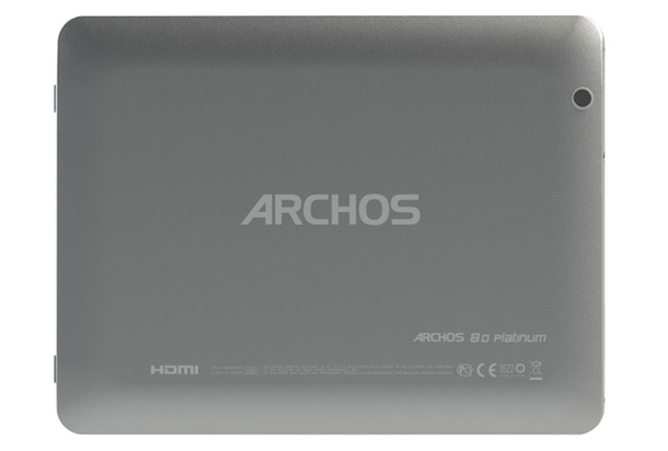 ARCHOS 80 Platinum Tablet - back