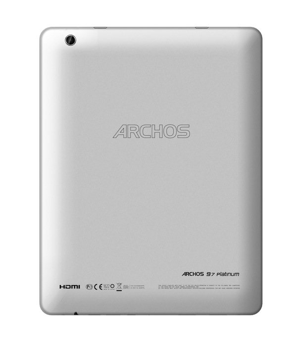 ARCHOS 97 Platinum Tablet - back