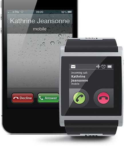 i'm Watch incoming call with iPhone