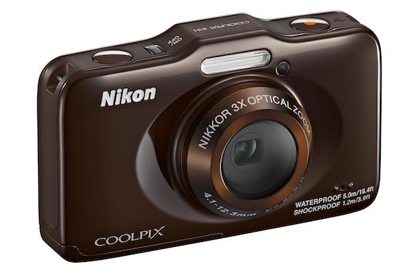 Nikon COOLPIX S31 - brown