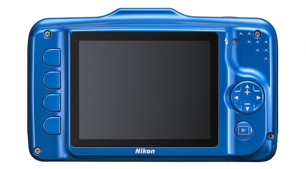 Nikon COOLPIX S31 - blue back