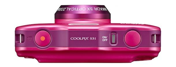 Nikon COOLPIX S31 - pink top