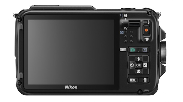 Nikon COOLPIX AW110 Rugged Digital Camera - back