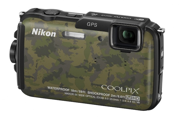 Nikon COOLPIX AW110 Rugged Digital Camera