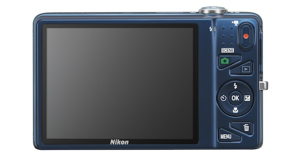 Nikon COOLPIX S5200 - back
