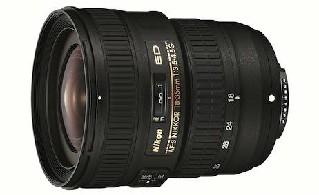 Nikon AF-S NIKKOR 18-35mm f/3.5-4.5G ED Wide-Angle Lens