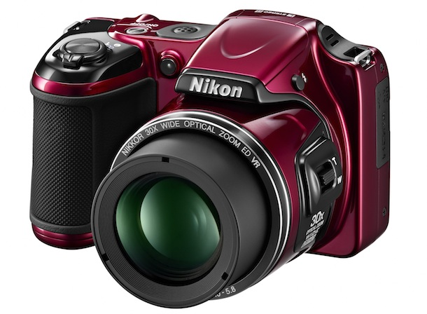 Nikon COOLPIX L820 - red