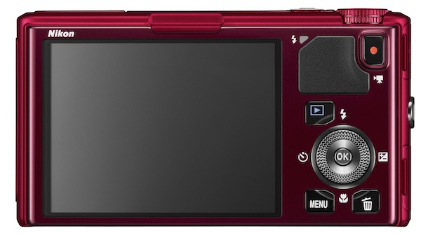 Nikon COOLPIX S9500 - back