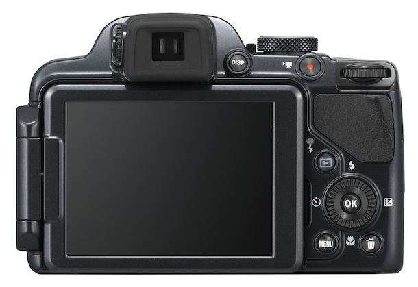 Nikon COOLPIX P520 - back