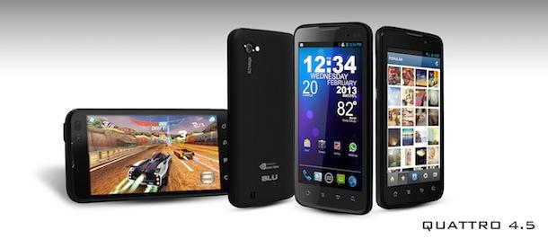 BLU Products Quattro 4.5 Smartphone
