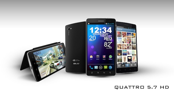 BLU Products Quattro 5.7 HD Smartphone