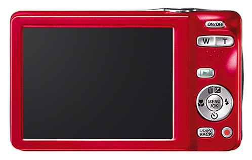 FujiFilm FinePix JX680 - back red