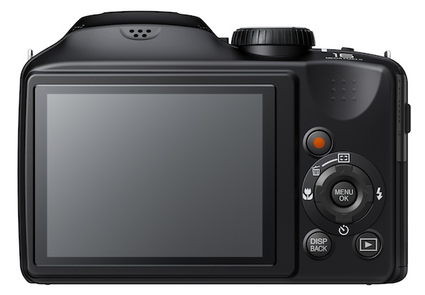 FujiFilm FinePix S4800 - back