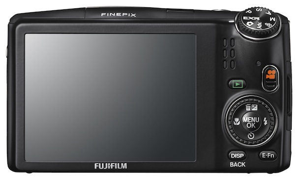 FujiFilm FinePix F900EXR - back