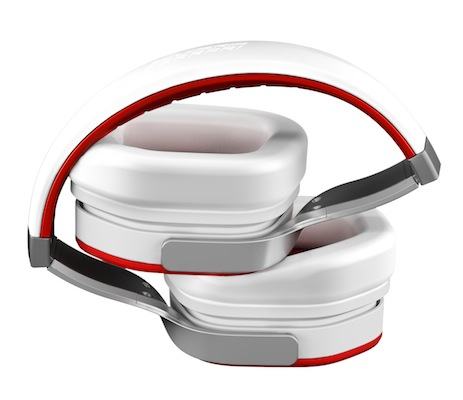 Scuderia Ferrari R300 Headphones - white folded