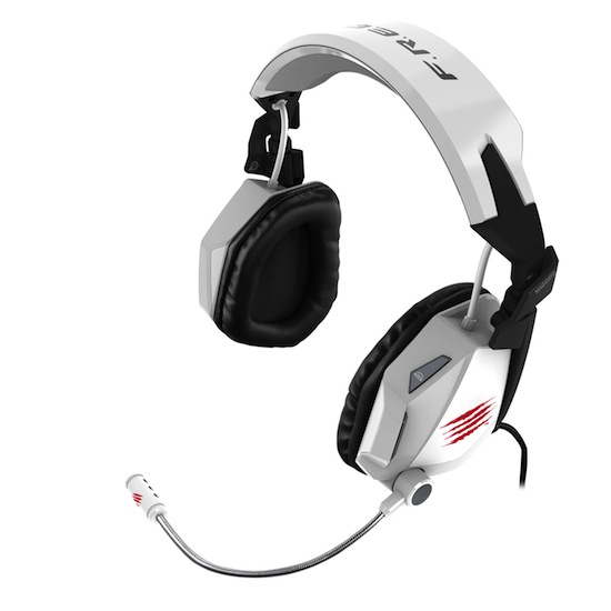 Mad Catz F.R.E.Q. 7 Surround Sound Gaming Headset - White