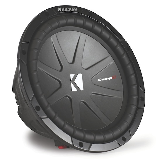 Kicker CompR Car Subwoofer