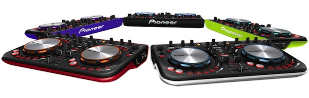 Pioneer DDJ-WeGO - colors