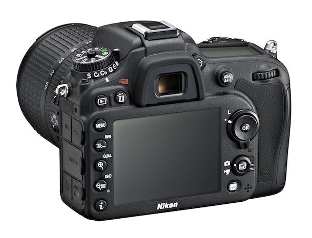 Nikon D7100 DSLR Camera - back angle