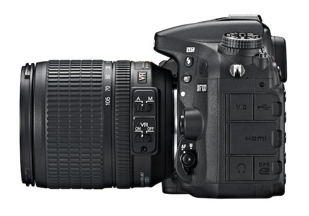Nikon D7100 DSLR Camera - left