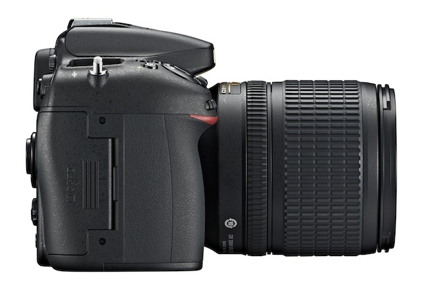 Nikon D7100 DSLR Camera - right