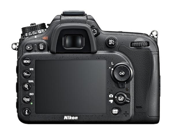 Nikon D7100 DSLR Camera - back