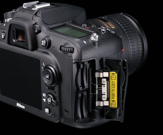 Nikon D7100 DSLR Camera - double slot
