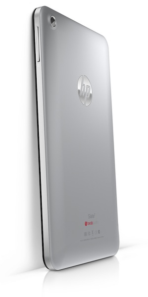 HP Slate7 Tablet - leaning