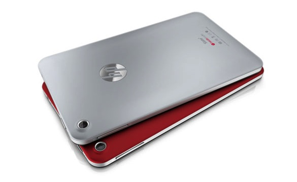 HP Slate7 Tablet - back
