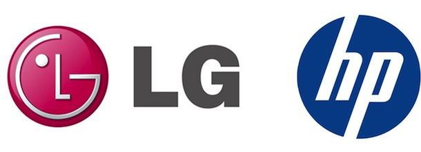 LG and HP Logos