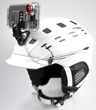 Optrix XD5 helmet cam