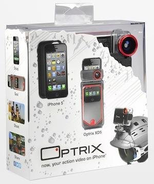 Optrix XD5 packaging