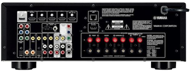 Yamaha RX-V575 A/V Receiver - back