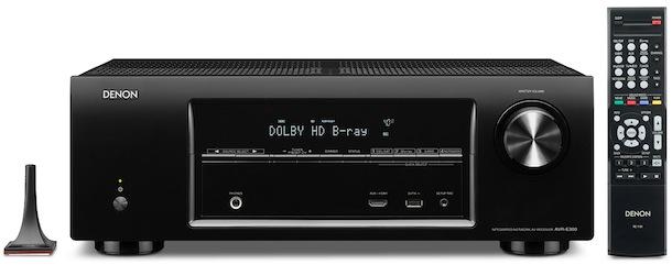 Denon AVR-E300 A/V Receiver - front