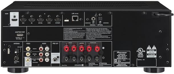 Pioneer VSX-823-K A/V Receiver - back