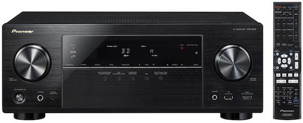 Pioneer VSX-823-K A/V Receiver - front
