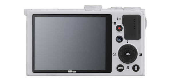 Nikon COOLPIX P330 Digital Camera - back white