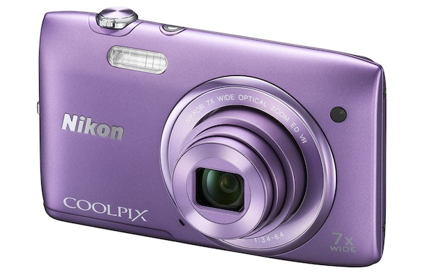 Nikon COOLPIX S3500 Digital Camera - purple