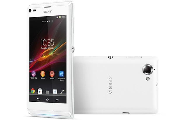 Sony Xperia L Smartphone - white