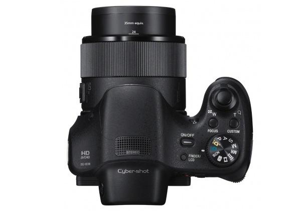 Sony DSC-HX300 Cyber-shot Digital Camera - top