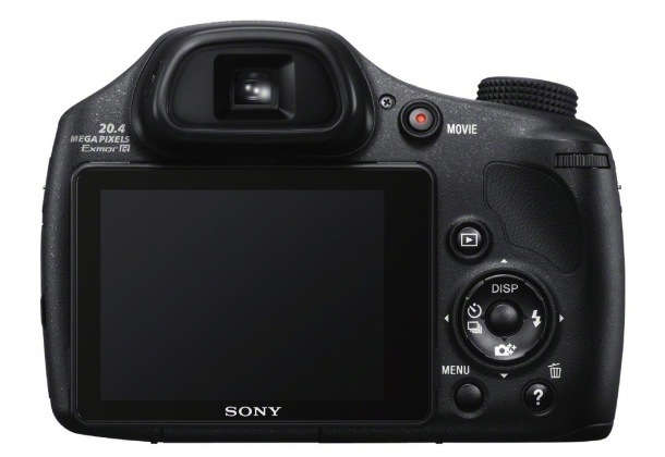 Sony DSC-HX300 Cyber-shot Digital Camera - back