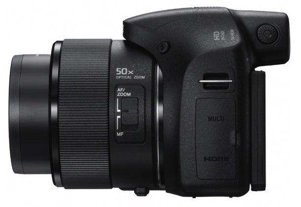 Sony DSC-HX300 Cyber-shot Digital Camera - left