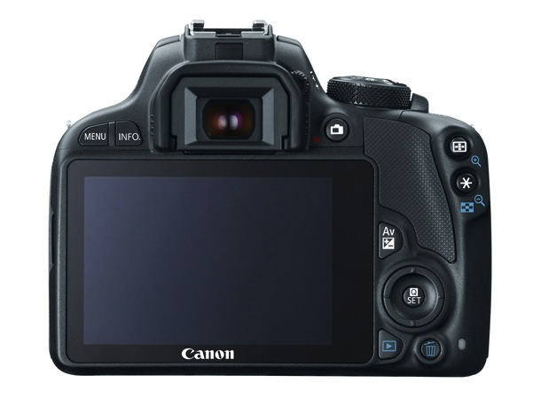 Canon EOS Rebel SL1 Digital SLR Camera - back