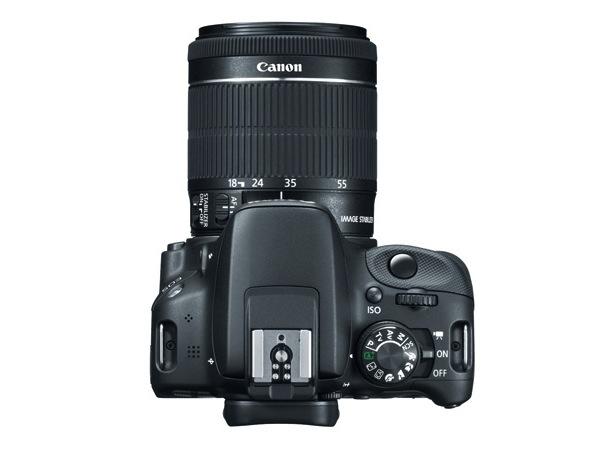 Canon EOS Rebel SL1 Digital SLR Camera - top