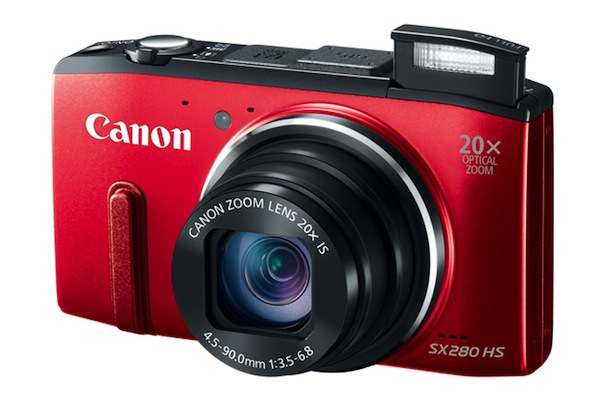 Canon PowerShot SX280 HS Digital Camera - red