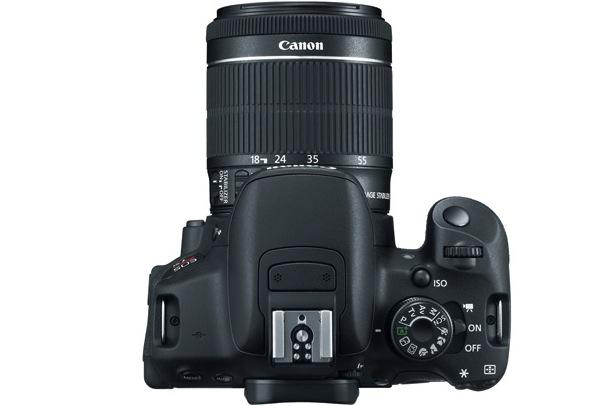 Canon EOS Rebel T5i Digital SLR Camera - top