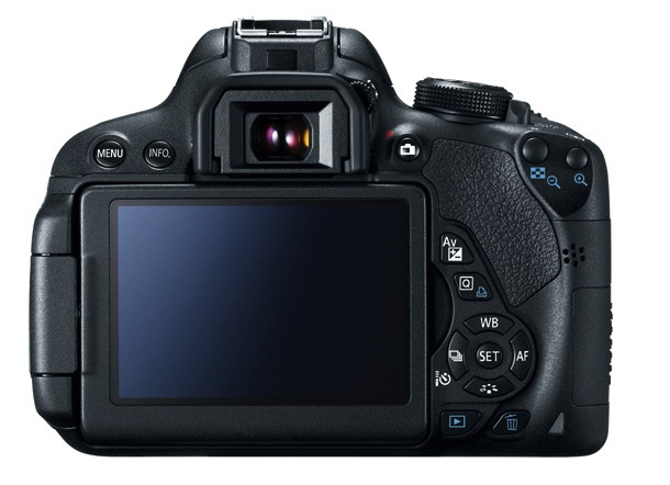 Canon EOS Rebel T5i Digital SLR Camera - back