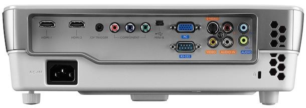 BenQ W1080ST DLP Projector - back
