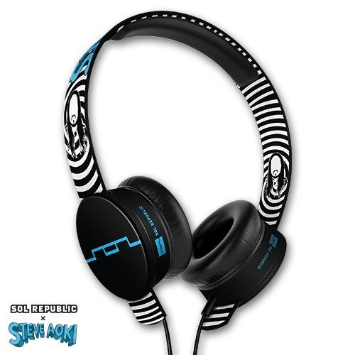 SOL REPUBLIC x Steve Aoki Tracks HD Headphones