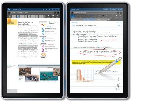 Kno Digital Textbook Dual Screen Tablet Ecoustics Com